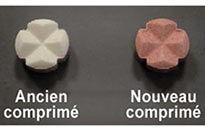 Préviscan® : Changement de couleur du comprimé