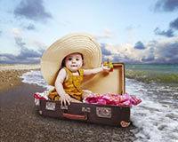Les vacances avec Bébé, que faut-il impérativement avoir dans sa trousse de pharmacie ?