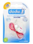 SUCETTE DODIE PHYSIOLOGIQUE SILICONE 6 MOIS +