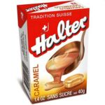 HALTER Bonbons sans sucre caramel