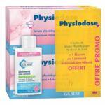 Physiodose sérum physiologique 100*5ML + Liniment 100ml offert