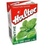HALTER Bonbons sans sucre menthe