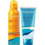 Polysianes SPF50 Spray velouté 150ml + Gelée fraîche 200ml