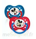 Dodie Disney sucettes silicone +18 mois Mickey Duo