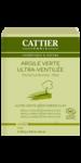 Cattier Argile Poudre ultra ventilée verte 250g