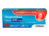 IBUPROFENE MYLAN 200 mg, comprimé enrobé