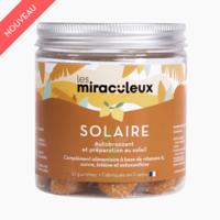 Les Miraculeux Gummies Solaire Améliore le Bronzage B/42