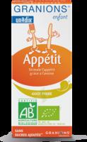 Granions Enfant Appétit Sirop poire Fl/125ml