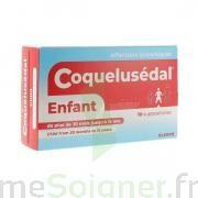 COQUELUSEDAL Suppositoire enfant plq/10 PVC/PE