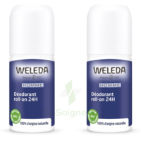 Weleda Duo Déodorant Roll-on 24H Homme 100ml