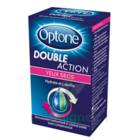OPTONE DOUBLE ACTION Solution oculaire yeux secs Fl/10ml