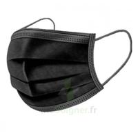 Masque Chirurgical Noir B/50