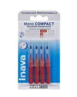 Inava Brossettes Mono-Compact Rouge ISO 4 1,5mm