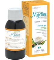 Lehning Myrtine Inhalante Solution d'Inhalation 5 Huiles Essentiels Bio Fl/90ml