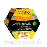 Vitaflor Bio Gelée royale 1500mg Solution buvable 20 Ampoules/15ml Promotion