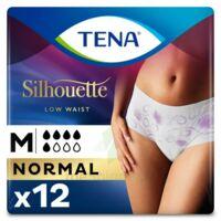 Tena Lady Silhouette Slip Absorbant Blanc Normal Médium Paquet/12