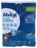 Alvityl Sucette Mal des Transports Cola Fraise Sachet/10