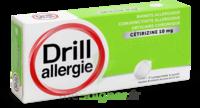 DRILL 10 mg Comprimés à sucer allergie cétirizine Plq/7