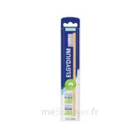 Elgydium Brosse à dents Bois Eco conçue meduim