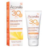 ACORELLE SOLAIRE SPF30 Crème bio teintée T/50ml
