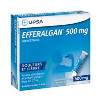 Efferalgan 500 mg Glé en sachet Sach/16