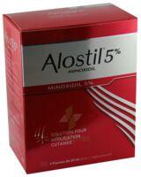 ALOSTIL 5 POUR CENT, solution pour application cutanée