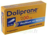 DOLIPRANE 200 mg Suppositoires 2Plq/5 (10)