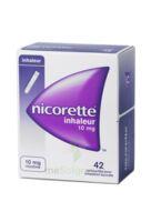 NICORETTE INHALEUR 10 mg Cartouche p inh bucc inhalation buccale B/42