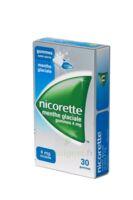 NICORETTE 4 mg Gom à mâcher médic sans sucre menthe glaciale Plq/30gom