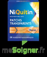 NIQUITIN 14 mg/24 heures, dispositif transdermique Sach/28