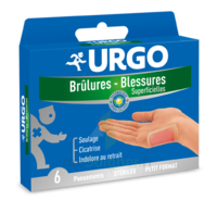 URGO BRULURES-BLESSURES PETIT FORMAT x 6