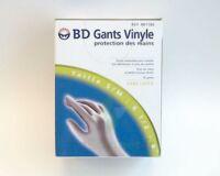 BD GANTS VINYLE, small - médium, 6 1/2 - 8, bt 50