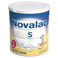 NOVALAC S 2 Lait en poudre satiétant 2ème âge B/800g