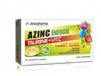 Azinc Energie Taurine + Vitamine C Comprimés à croquer dès 15 ans B/30