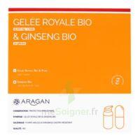 Aragan Gelée Royale & Ginseng Bio 15000 mg Gelée + comprimés Fl pompe airless/18g + comprimés