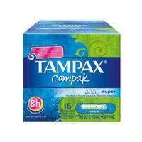 TAMPAX COMPAK, super, bt 16