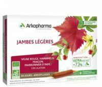 Arkofluide Bio Ultraextract Solution buvable jambes légères 20 Ampoules/10ml