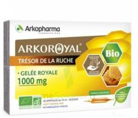 Arkoroyal Gelée royale bio 1000 mg Solution buvable 20 Ampoules/10ml
