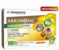 Arkoroyal Immunité Fort Solution buvable 20 Ampoules/10ml