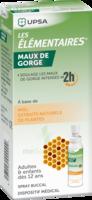 LES ELEMENTAIRES Solution buccale maux de gorge adulte 30ml