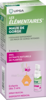 LES ELEMENTAIRES Spray buccal maux de gorge enfant Fl/20ml