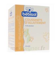 Bébisol Coussinets d'allaitement jetables ultra-absorbants / Boîte de 30