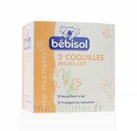 Bébisol Coquilles recueil lait / Boîte de 2