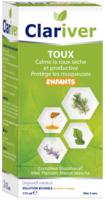 Clariver Solution buvable Toux sèche et productive enfant Fl/175ml