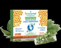 Puressentiel Respiratoire Pastilles Respiratoire aux 3 miels aromatiques - 18 pastilles