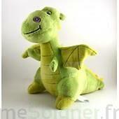 SANODIANE Bouillotte Graines de lin enfant dragon