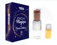 Pinceau Magique & Poudre scintillante dorée
