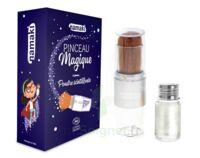Pinceau Magique & Poudre scintillante argentée