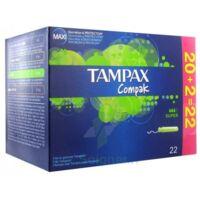 TAMPAX COMPAK, super, bt 22