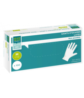MARQUE CONSEIL Gant latex sans poudre L B/100